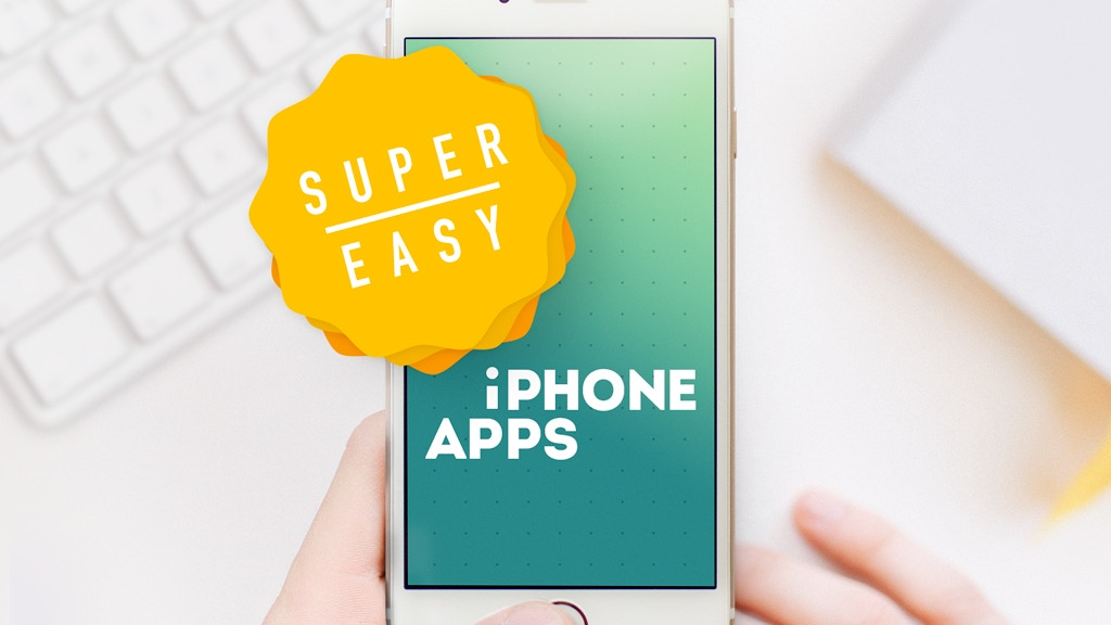 Super Easy iPhone Apps - How to Make your First iOS9 App project video thumbnail