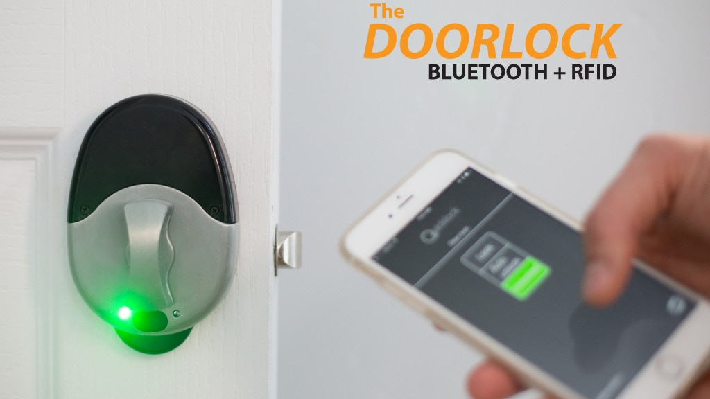 The Quicklock- World's 1st Bluetooth + RF Auto Lock Doorlock project video thumbnail