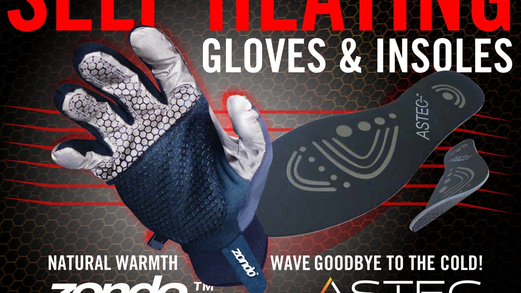 World`s first natural heat generating gloves and insoles project video thumbnail