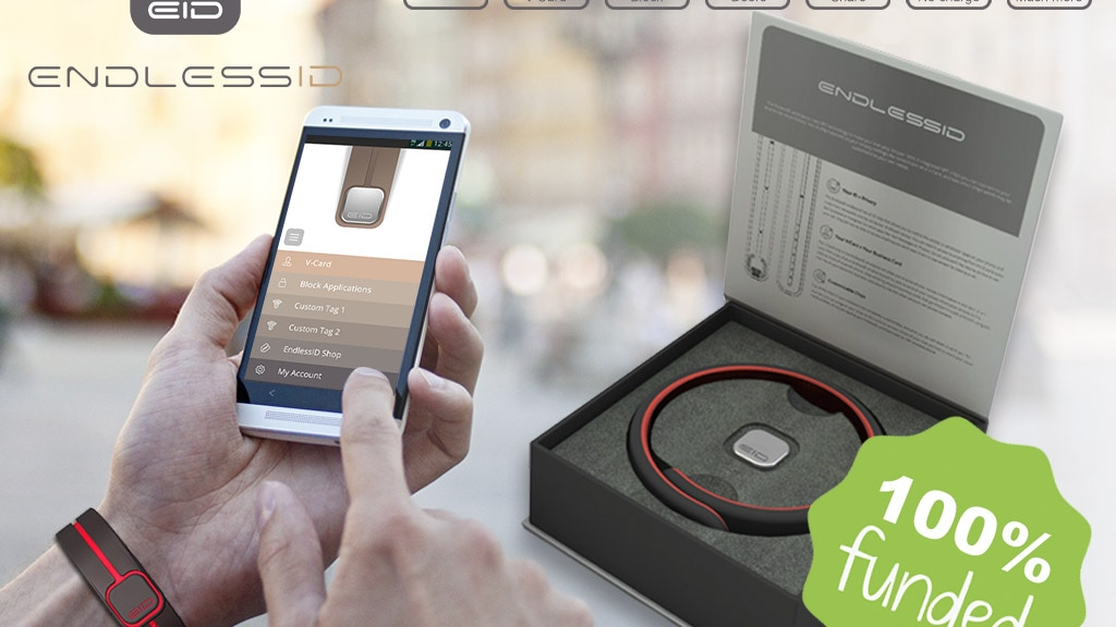 EndlessID - The most innovative NFC wearables ever! project video thumbnail