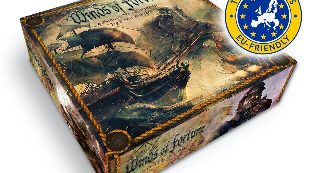 Winds of Fortune - Naval Strategy Board/Card Game project video thumbnail