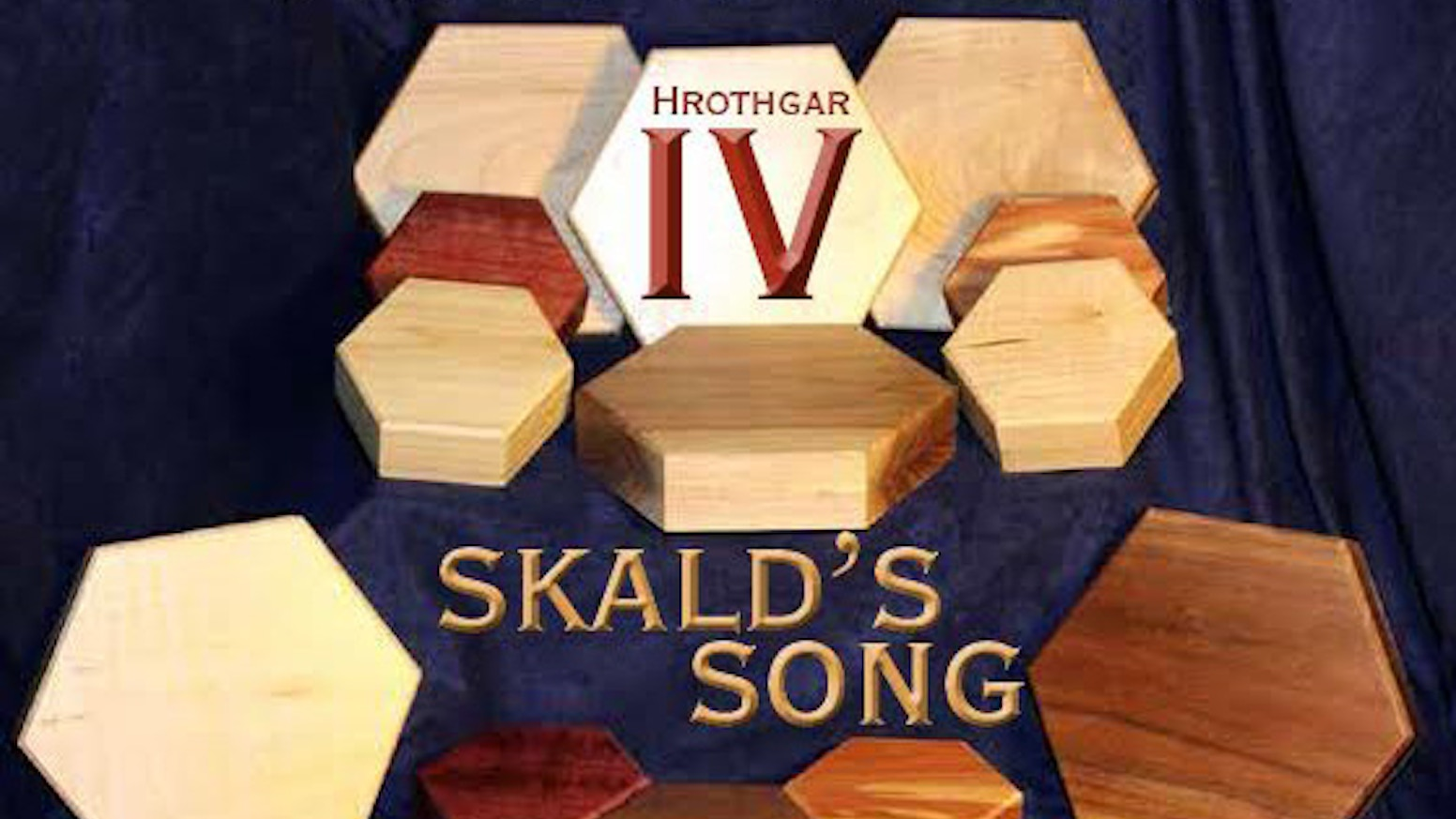 Hrothgar returns with its fourth project. Skald's Song introduces two new storage solutions for your games. Quality Hardwoods...Always