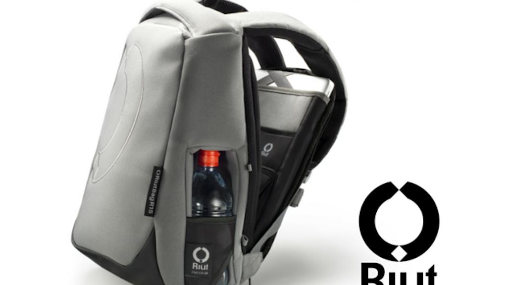 Backwards backpack: the revolutionary RiutBag project video thumbnail