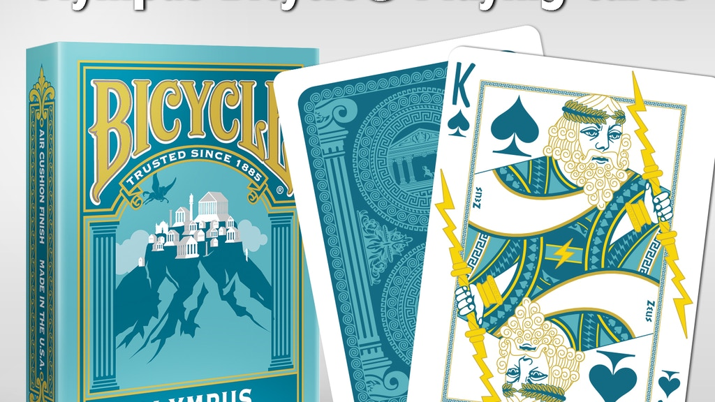 Project image for Olympus Bicycle® Playing Cards (Canceled)