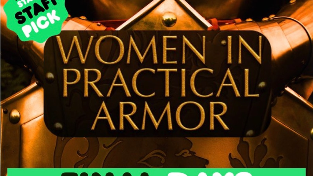 Women in Practical Armor project video thumbnail