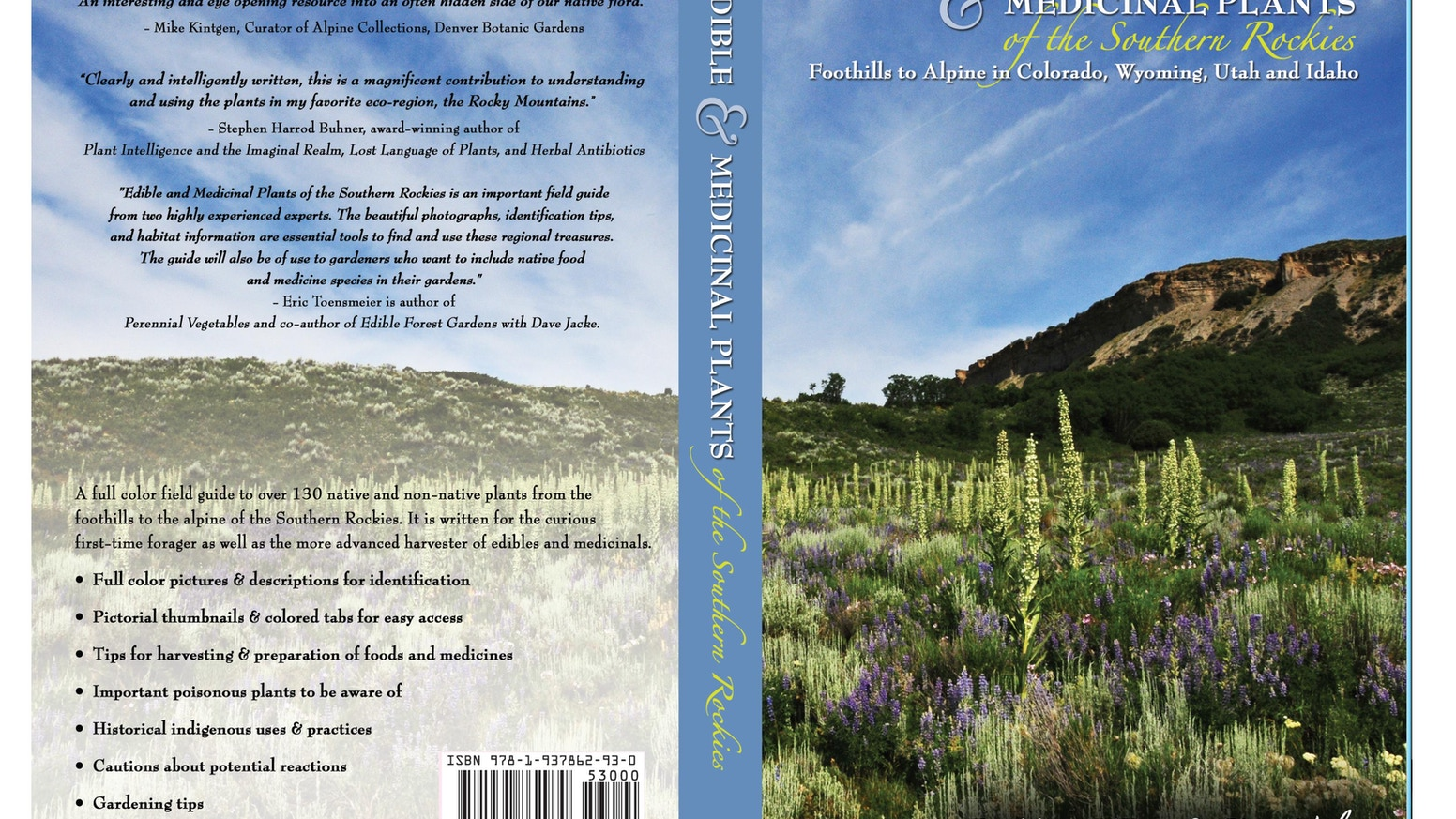 Edible and Medicinal Plants of the Southern Rockies by Mary O'Brien