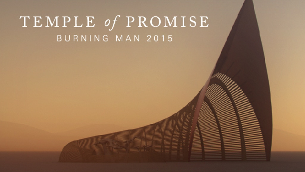 Temple of Promise Grove - Burning Man 2015 project video thumbnail