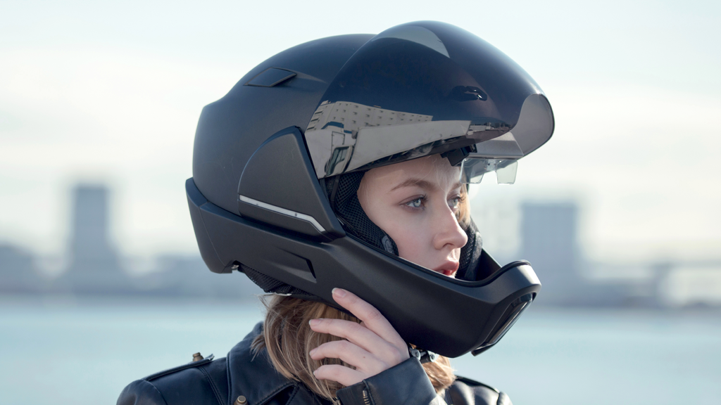 CrossHelmet - the smart motorcycle helmet project video thumbnail