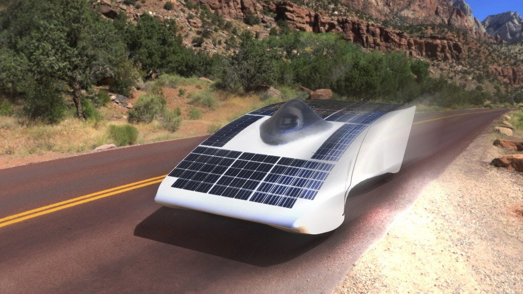 Archimede Solar Car project video thumbnail
