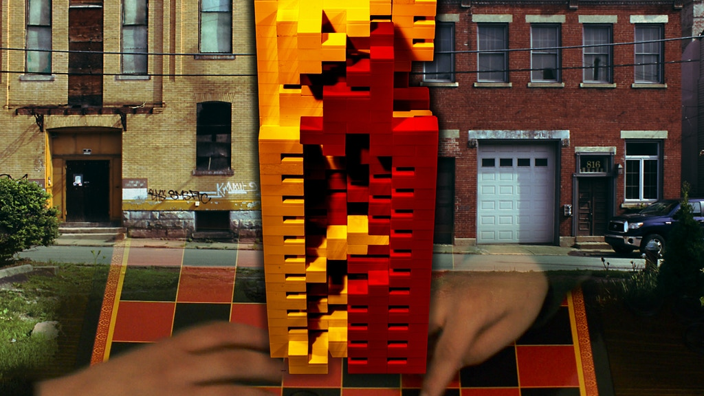 Checker Brick House – Local Game Becoming Public Art project video thumbnail