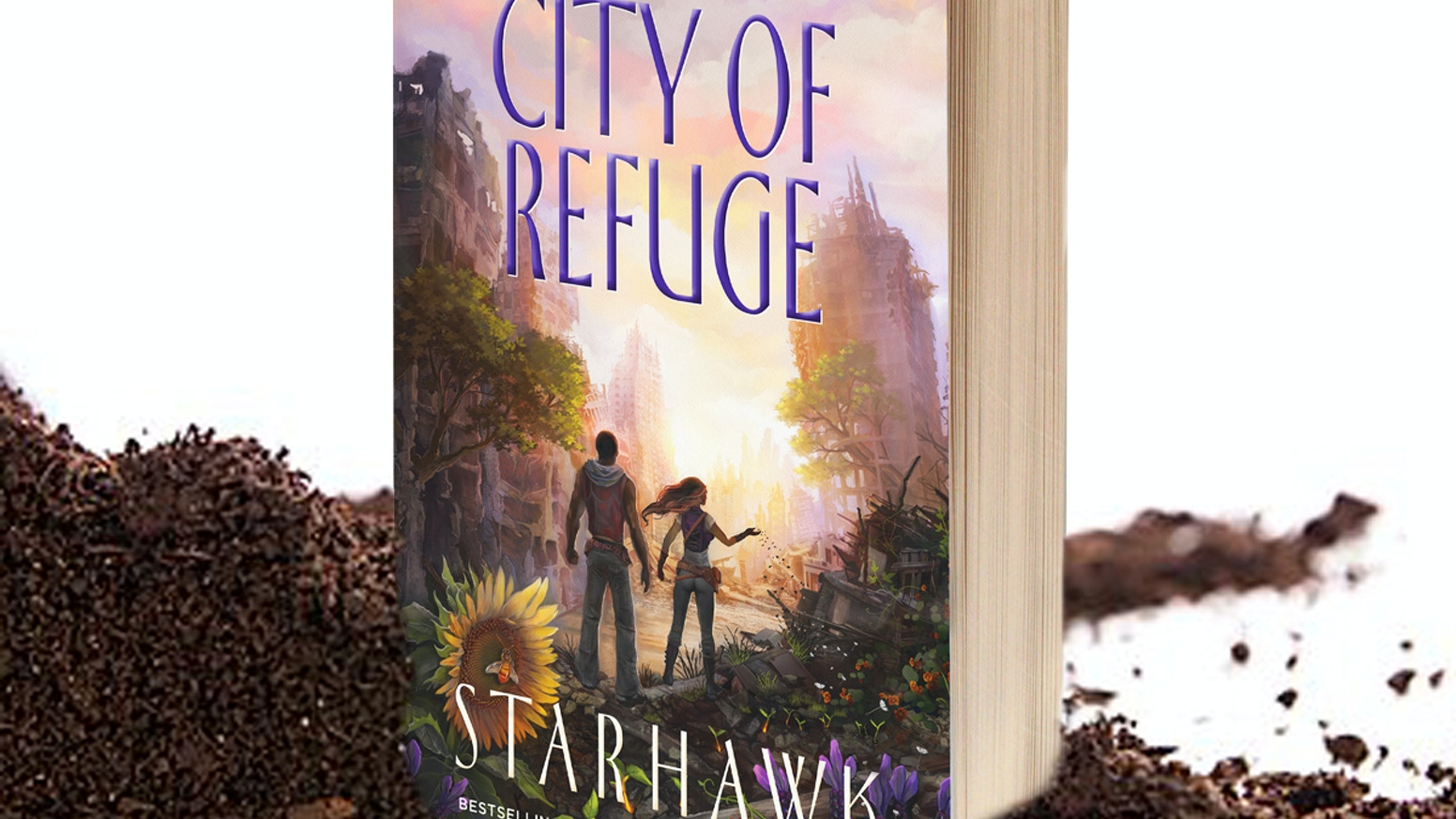 Starhawk's newest epic answers the timely question: how do we build a new world when people are broken by the old?