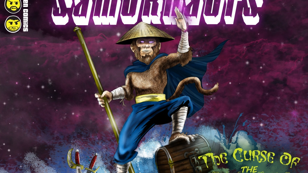 The Samurnauts: Curse of the Dreadnuts, the Graphic Novel! project video thumbnail