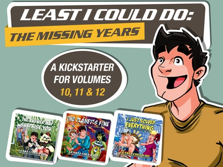 Least I Could Do: The Missing Years by Ryan Sohmer ...