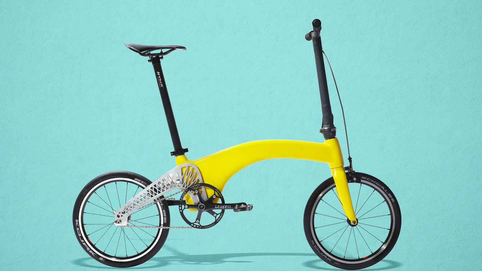 HUMMINGBIRD: The World\'s Lightest Folding Bike by Petre Craciun ...