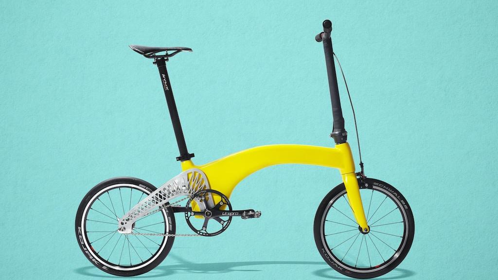 HUMMINGBIRD: The World's Lightest Folding Bike project video thumbnail