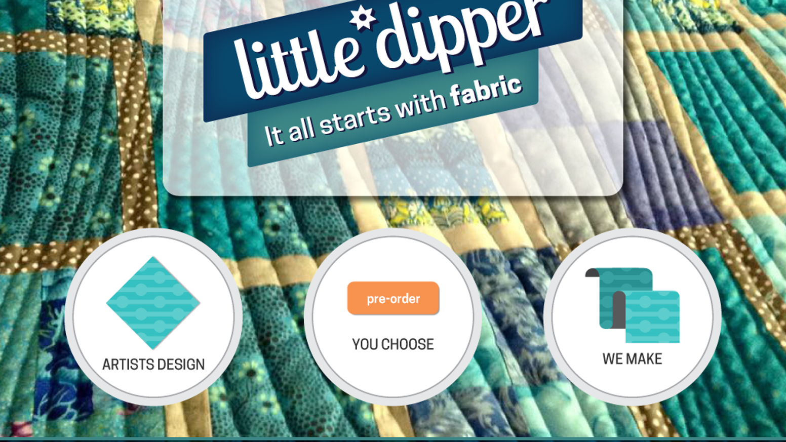 You choose which fabrics we make!