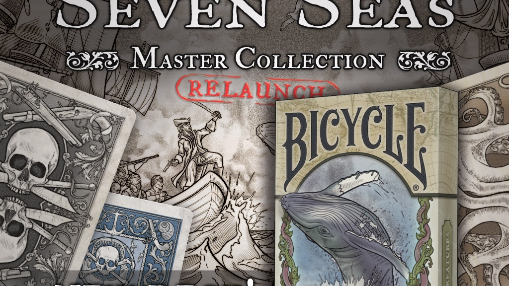 Brain Vessel Creative presents the Seven Seas Master Collection. Featuring famous pirates, ships, sea creatures, monsters, and lore.