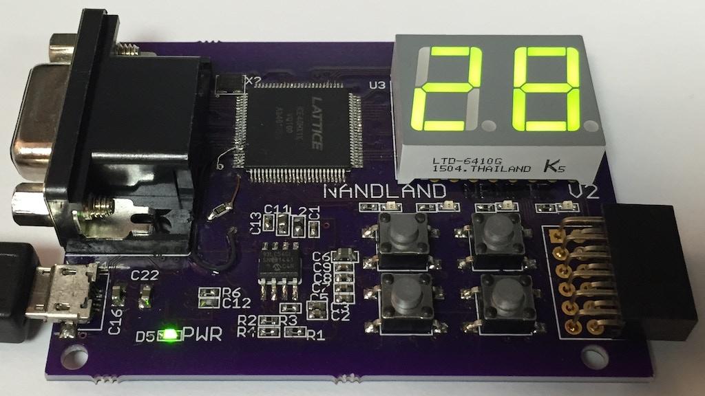 Nandland Go Board - Your FPGA Playground project video thumbnail