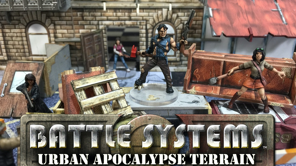 Battle Systems™ Urban Apocalypse Terrain project video thumbnail