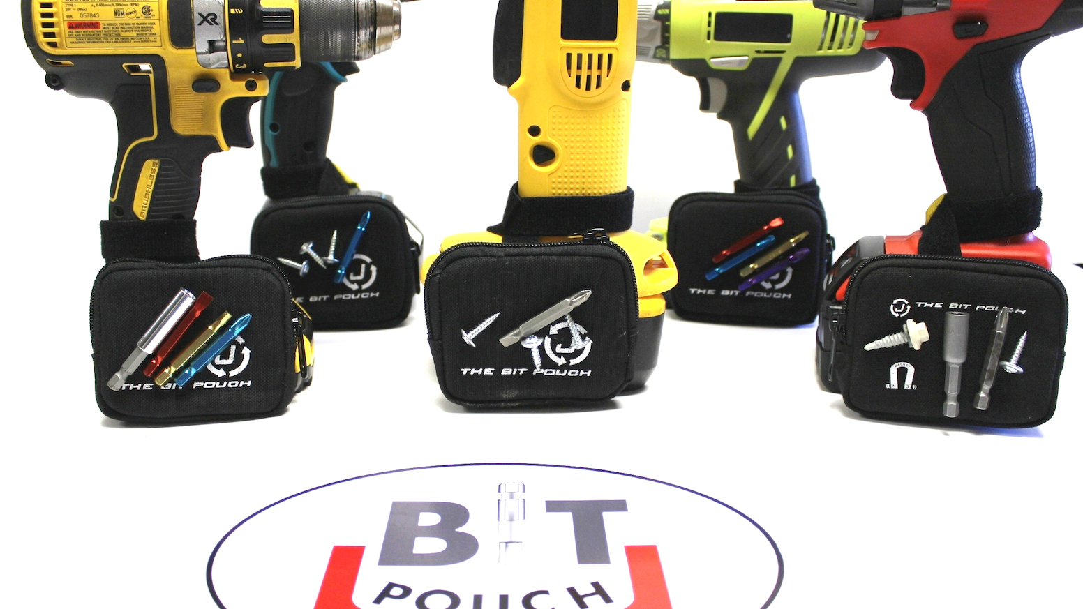 The Bit Pouch is a 'Must Have' Tool Accessory for the Tradesman and Do-It-Yourselfer Alike