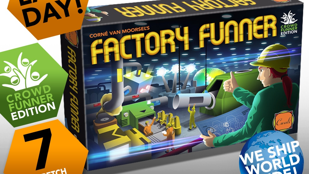 FACTORY FUNNER (crowdfund edition) project video thumbnail