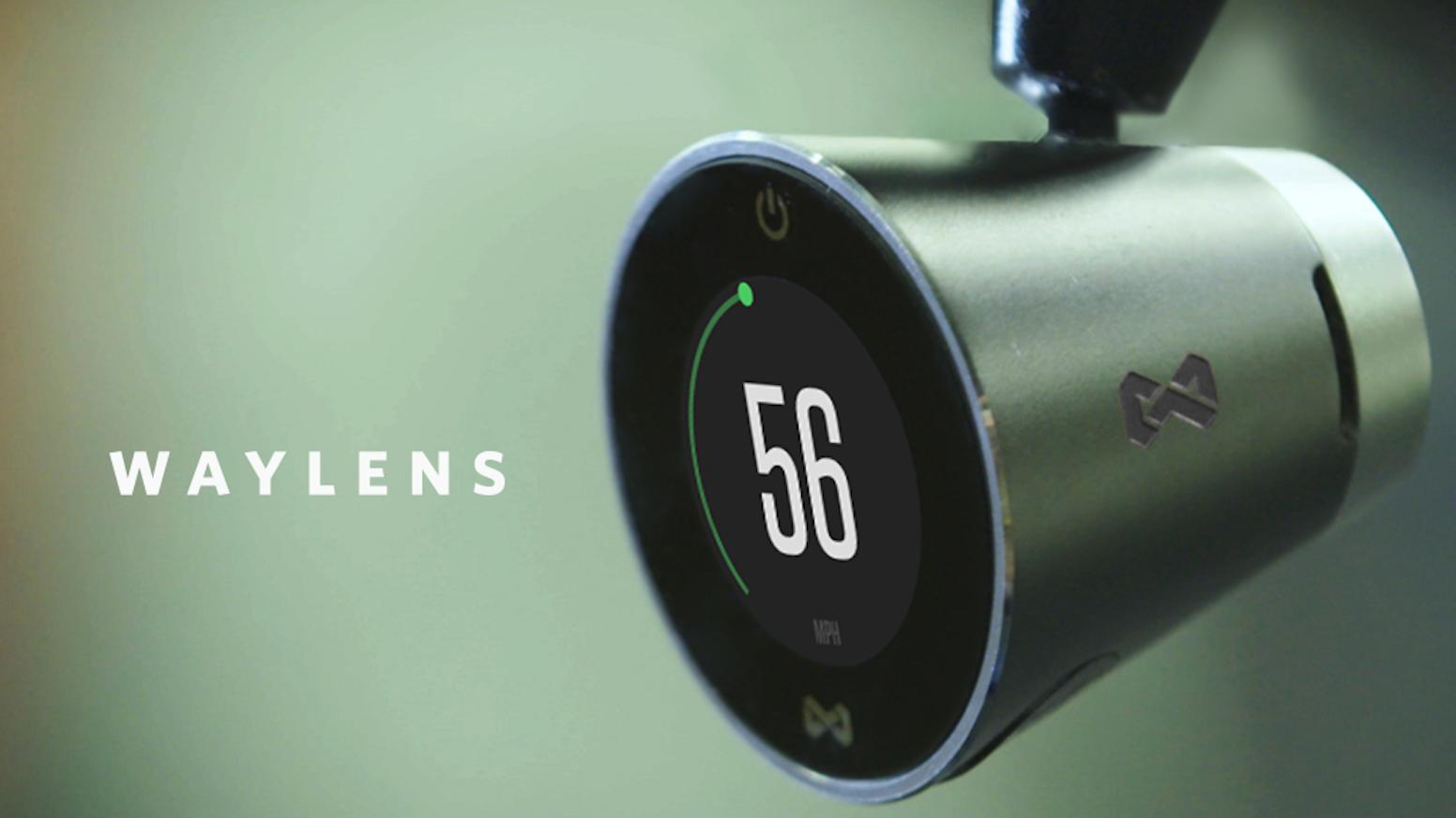 Waylens - A Data Driven Automotive Camera System by Waylens