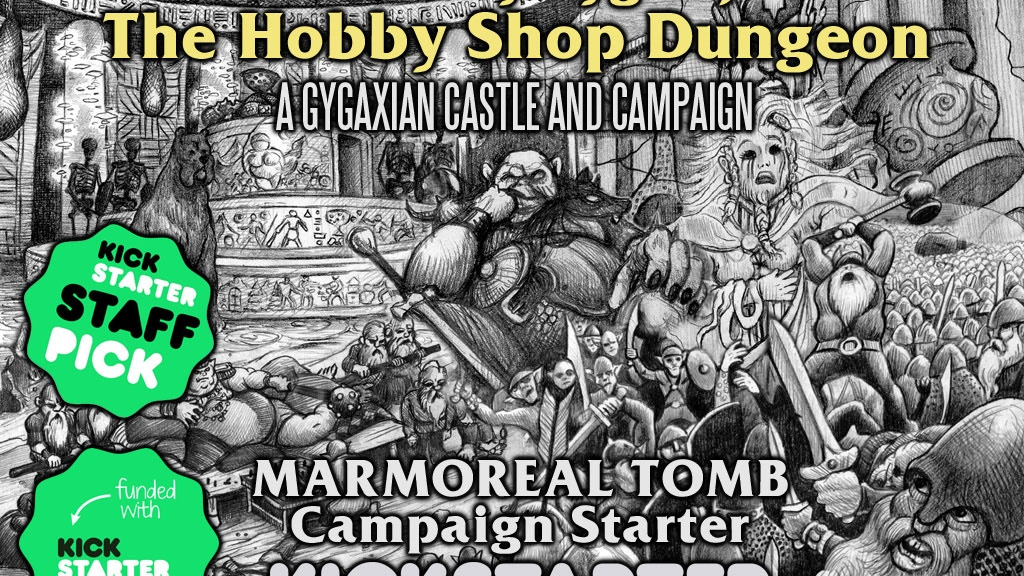 Ernest Gary Gygax Jr.'s Marmoreal Tomb Campaign Starter project video thumbnail