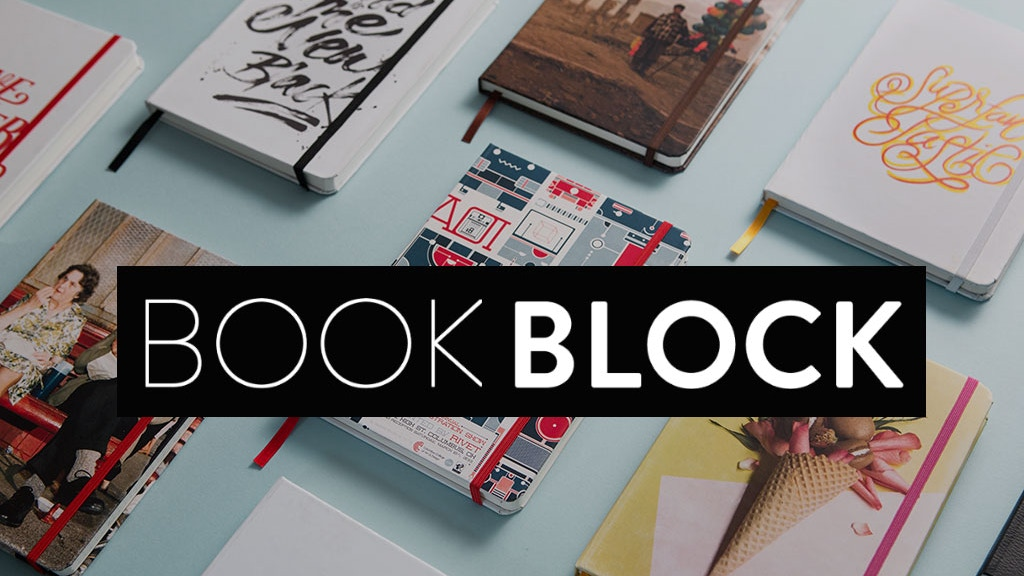 Book Block - The World's First Totally Custom Notebook project video thumbnail