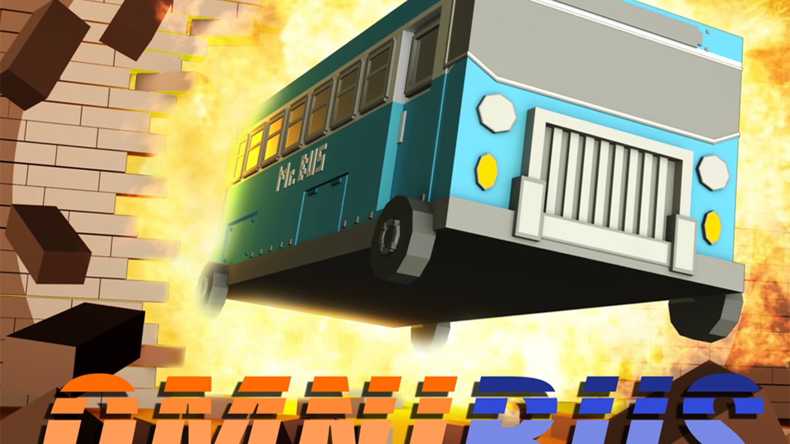 Fast-paced PS1-style physics game about OmniBus, an unstoppable force of nature!
