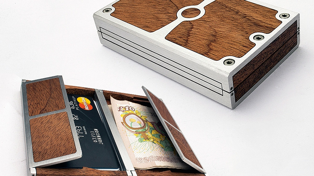 Fusion Wallet - The Hand Crafted Hardwood and Metal Wallet project video thumbnail