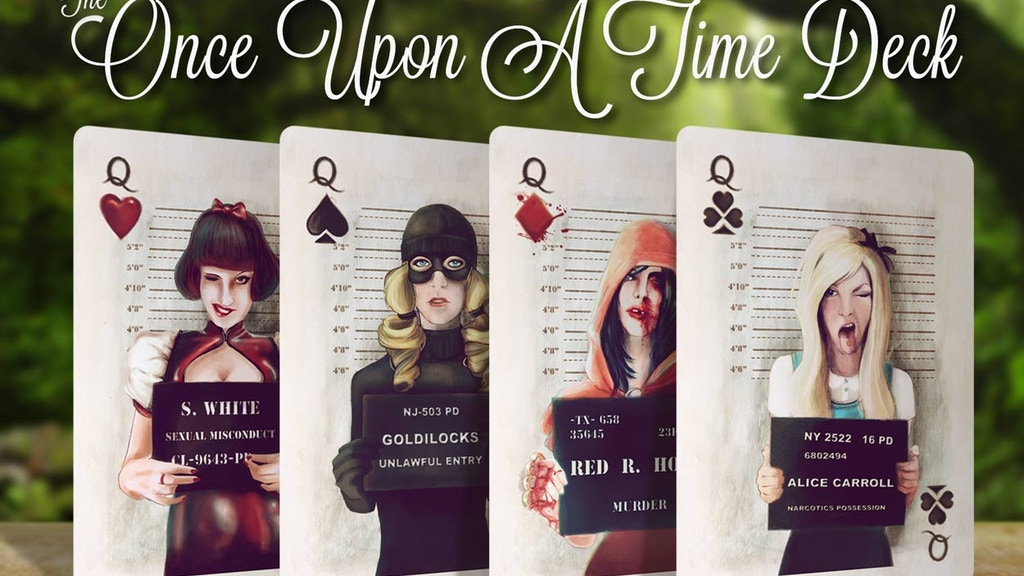 Once Upon A Time Playing Cards project video thumbnail