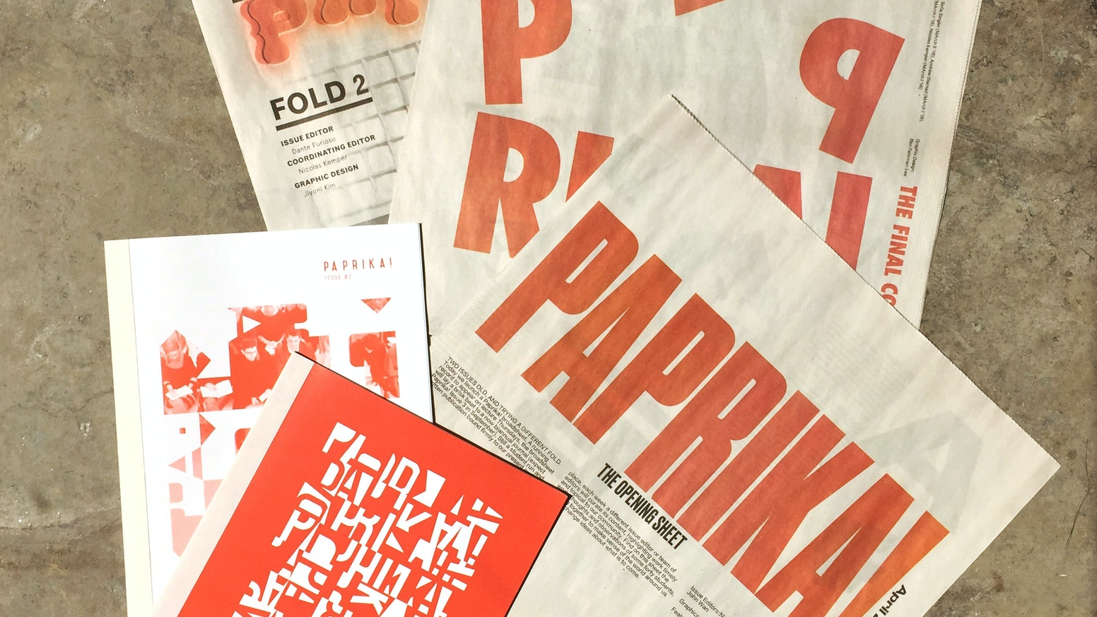Paprika! An architecture student weekly by Paprika