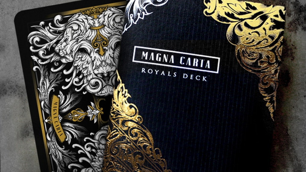 Magna Carta 800th Anniversary Limited Edition Playing Cards project video thumbnail