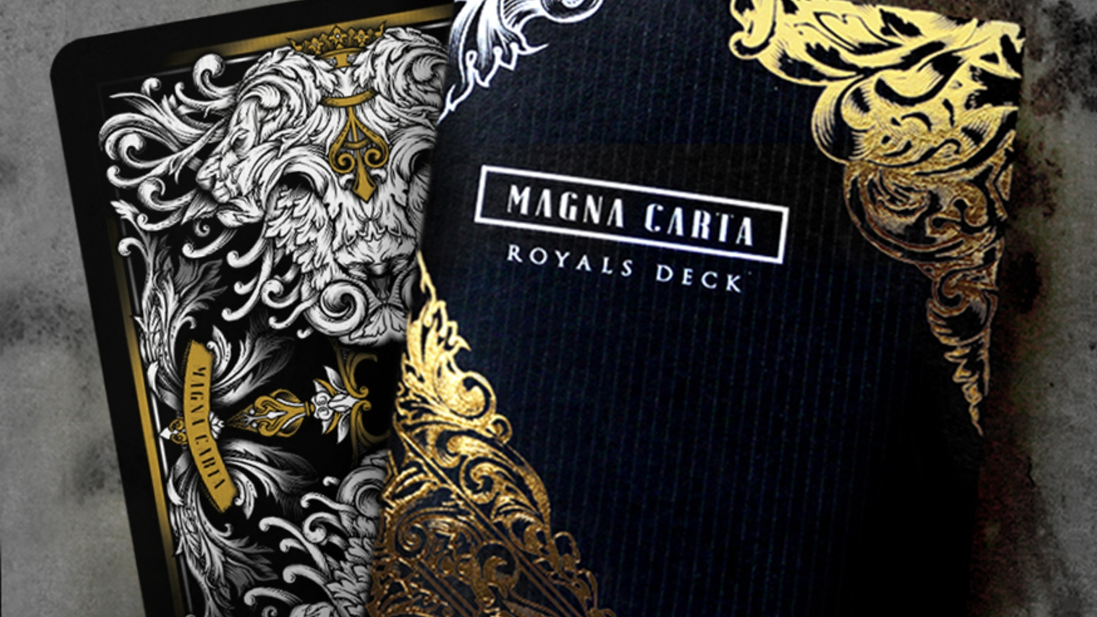 Celebrate this momentous anniversary of the Magna Carta with this limited edition luxury playing card set printed by the USPCC.