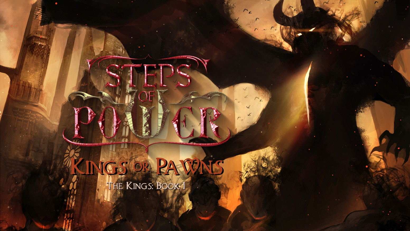 Kings or Pawns: Steps of Power, Book I - Audiobook by Jessica