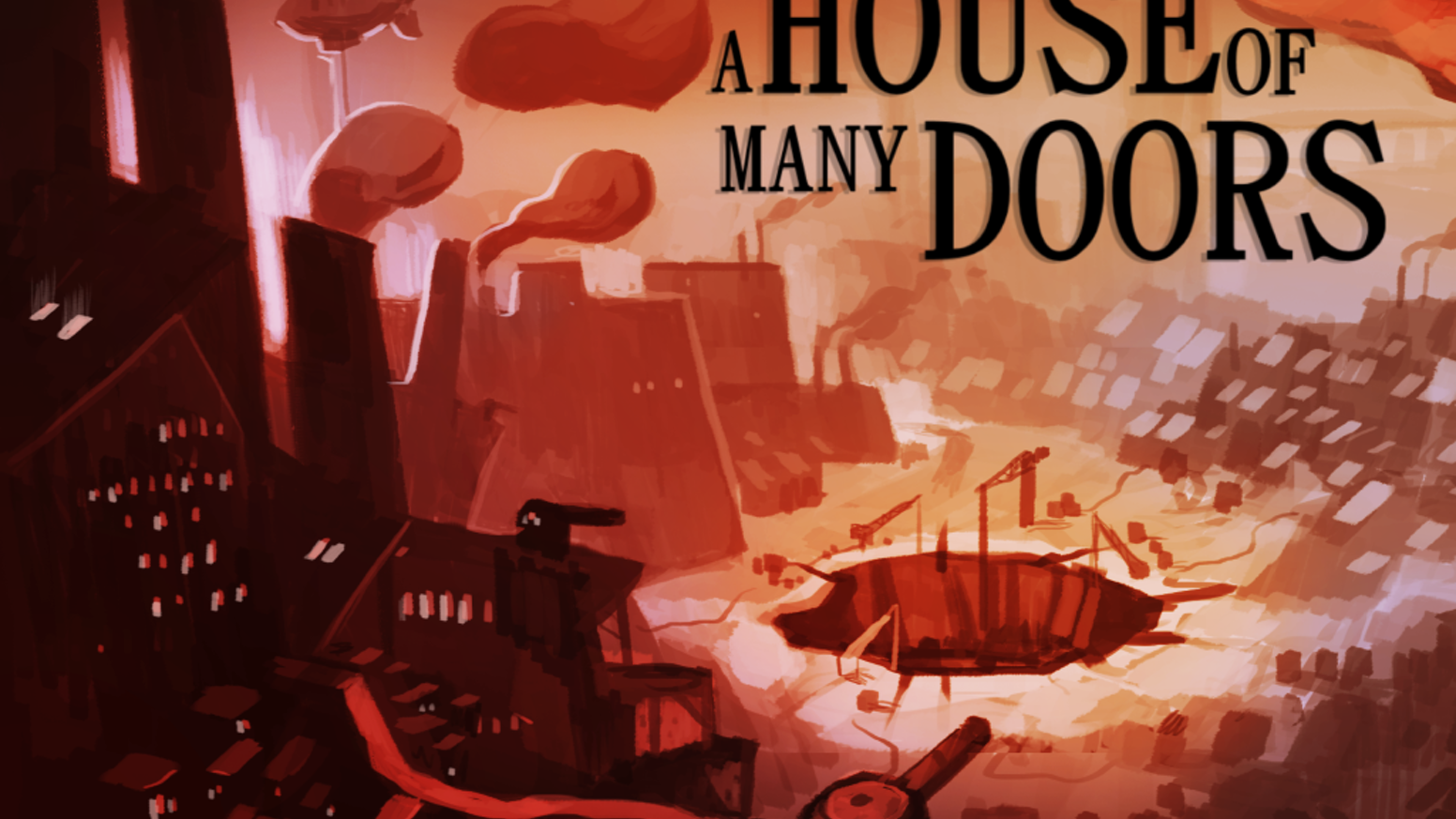 Explore the House, a parasite dimension of cities and secrets. A nonlinear exploration RPG for PC, packed with story and lore.