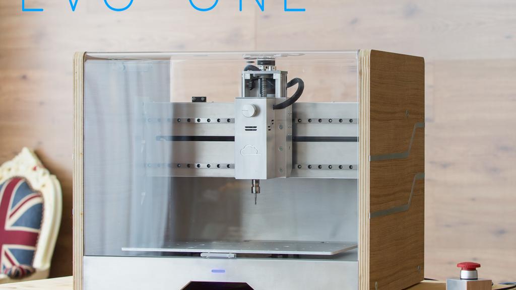 Evo One Desktop Cnc Mill Made For Anyone By Makerdreams Kickstarter