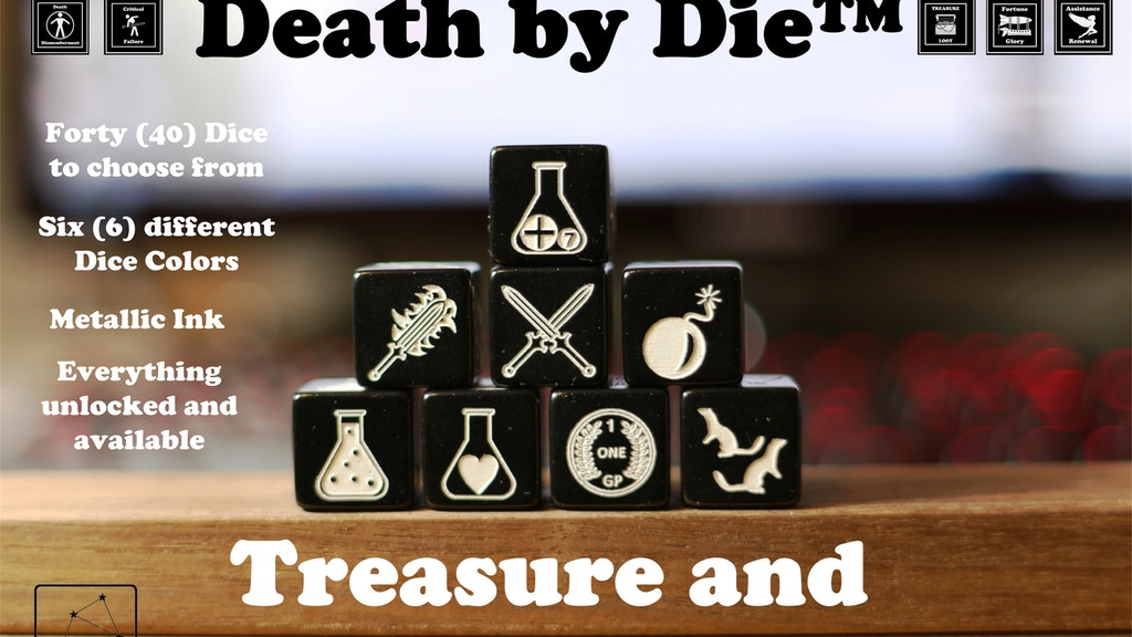 Death by Die™: Dice of Treasure and Loot project video thumbnail