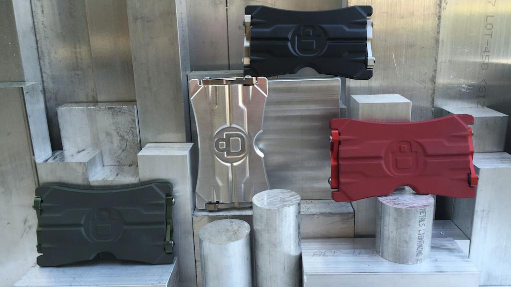 ORION ONE:  Mechanical Aluminum + Titanium Minimalist Wallet project video thumbnail