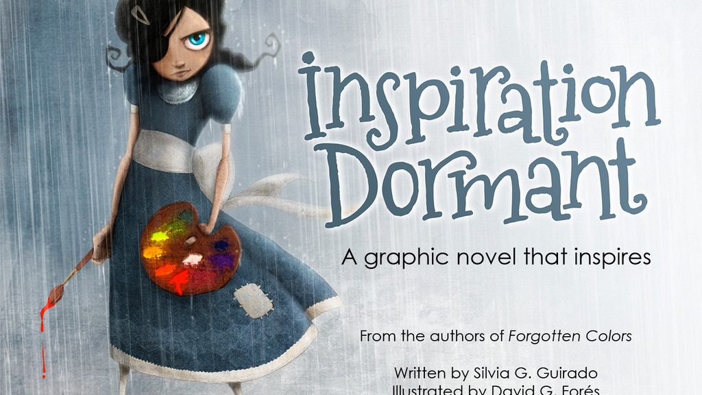A graphic novel that inspires: Inspiration Dormant (Book 2) project video thumbnail