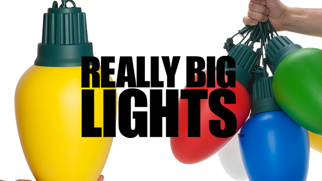 Really Big Lights | Supersize Christmas project video thumbnail