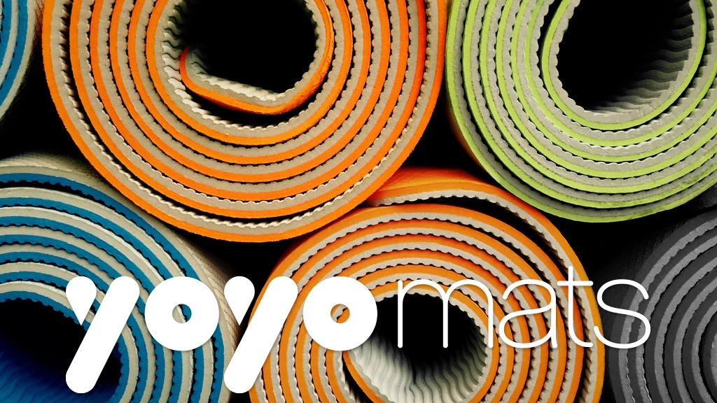 The World's Only Self-Rolling Fitness & Yoga Mat project video thumbnail