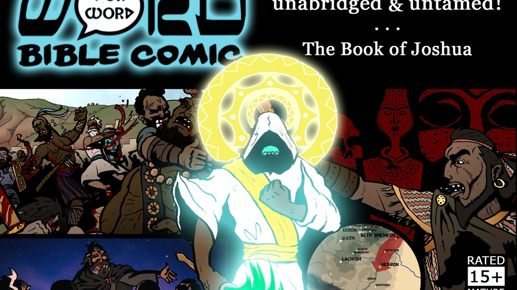 The Word for WORD Bible Comic-Book 2: Joshua - Graphic Novel project video thumbnail
