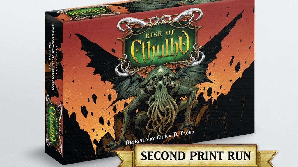Rise of Cthulhu - Second Print Run project video thumbnail