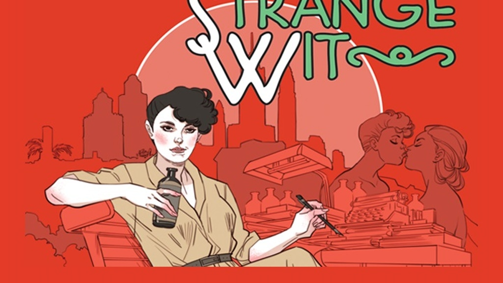 Strange Wit, an original graphic novel about Jane Bowles project video thumbnail
