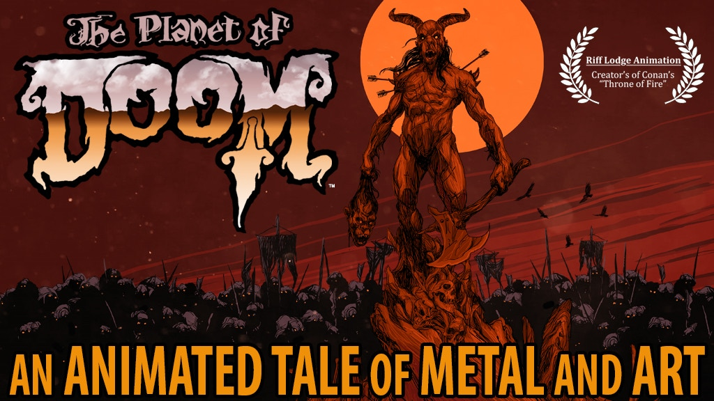 THE PLANET OF DOOM - An Animated Tale of Metal and Art project video thumbnail