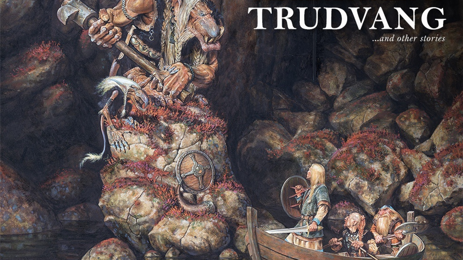 Unique chance to get the collected art of Trudvang with master artists such as Paul Bonner, Justin Sweet, Alvaro Tapia and more.