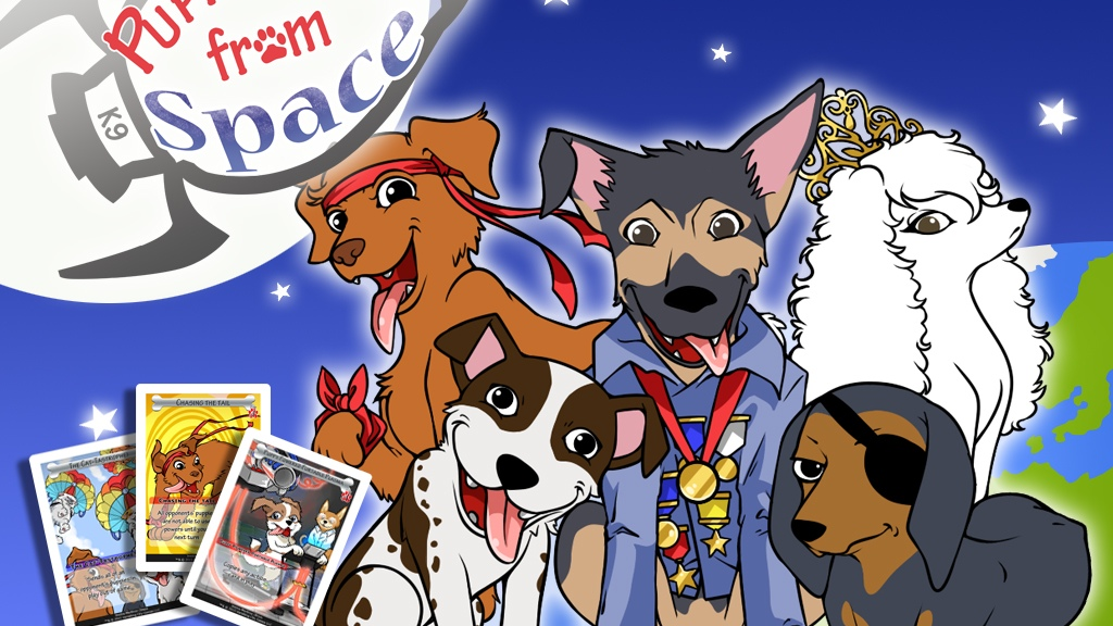 Puppy Dogs from Space (Relaunched) project video thumbnail