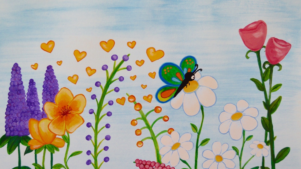 Butterfly Child - A Children's Picture Book project video thumbnail