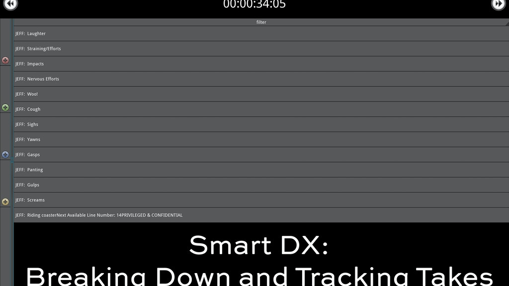 Smart DX: Breaking Down & Marking Your Script for Editorial project video thumbnail